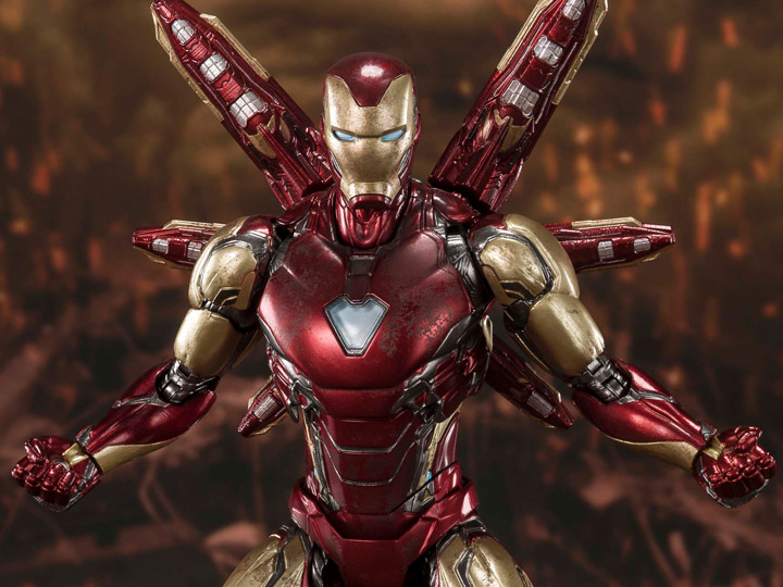 Avengers: Endgame S.H.Figuarts Iron Man Mark LXXXV (Final Battle Edition)