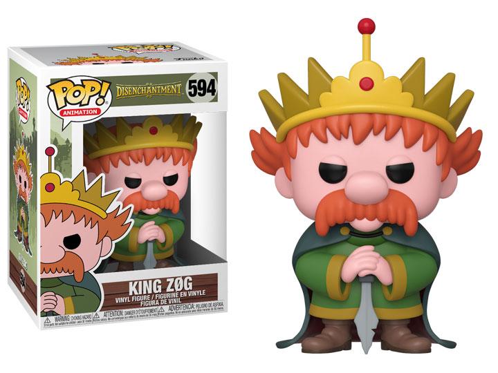 POP Animation Disenchantment Funko King Zog Brand New In Box