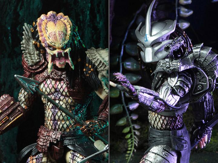 Predator Bad Blood /& Enforcer Ultimate Action Figure 2 Pack Neca