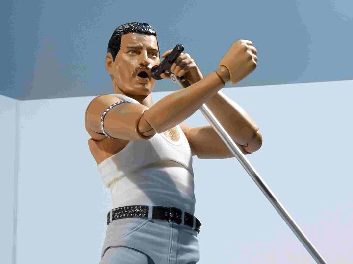 Queen S.H.Figuarts Freddie Mercury (Live Aid Ver.)