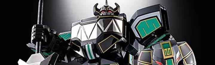 Power Rangers Soul of Chogokin GX-72B Megazord (Black Ver.) Event Exclusive