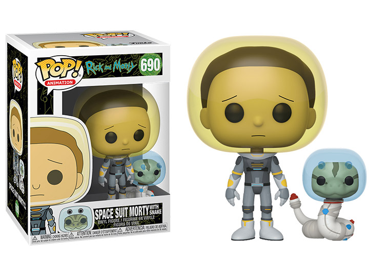 Space Suit Rick w// Snake Vinyl Figure Funko Pop Rick and Morty Animation