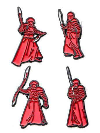 Star Wars: The Last Jedi Elite Praetorian Guard Pin Set