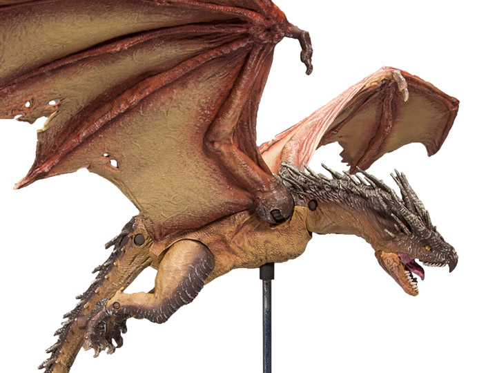 """Harry Potter Hungarian Horntail 9/"""" Action Figure McFarlane Toys Goblet of Fire"""