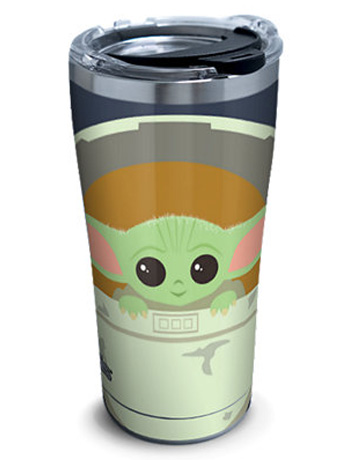 The Mandalorian The Child in Carrier Stainless Steel 20oz. Tumbler