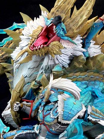 Monster Hunter Zinogre (The Electrifying Bundle) 1/10 Scale Diorama