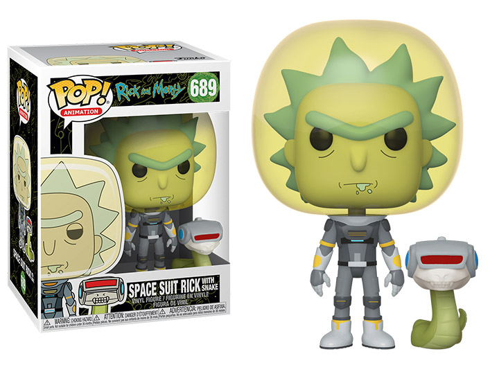 Vinyl Figure Funko Pop Animation Rick et Morty-King de $ #!