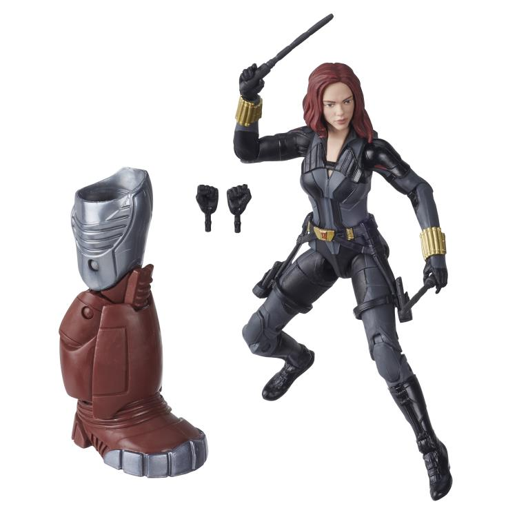 "Marvel Legends Black Widow Movie Crimson Dynamo BAF 6/"" Scale Action Figure"