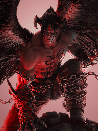 Tekken 7 Devil Jin 1/4 Scale Limited Edition Statue