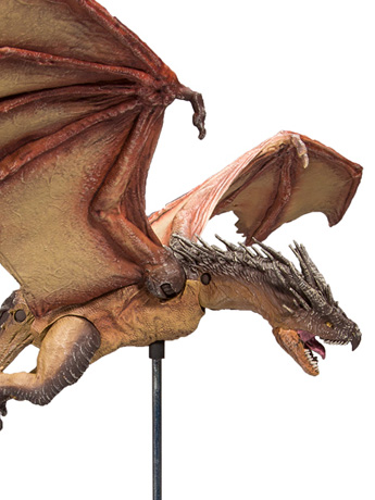 Harry Potter and the Goblet of Fire Hungarian Horntail Deluxe Figure