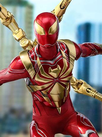Spider-Man (2018 Video Game) VGM38 Spider-Man (Iron Spider Armor) 1/6 Scale Collectible Figure