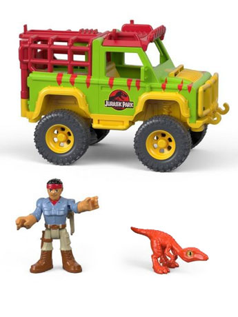 Jurassic World Imaginext Dr. Grant & 4X4 Set