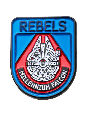 Star Wars: The Last Jedi Rebels Millenium Falcon Lapel Pin