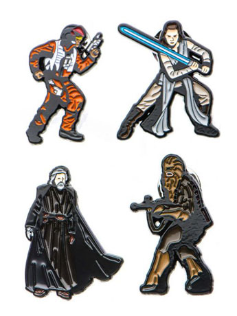 Star Wars: The Last Jedi Pin Set