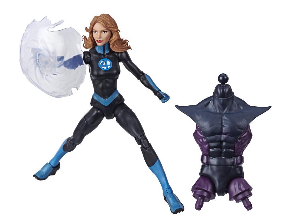 """INVISIBLE WOMAN SUE STORM Marvel Legends Fantastic 4 Super Skrull BAF HASBRO 6/"""""""