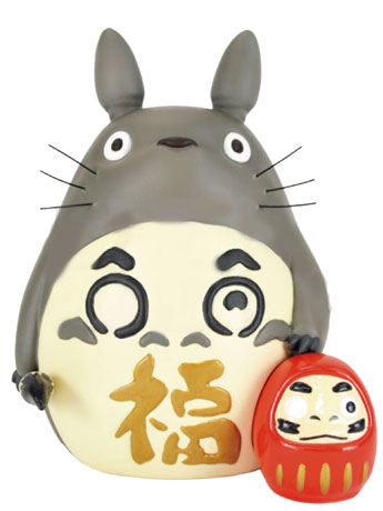 My Neighbor Totoro Good Luck Daruma Figure