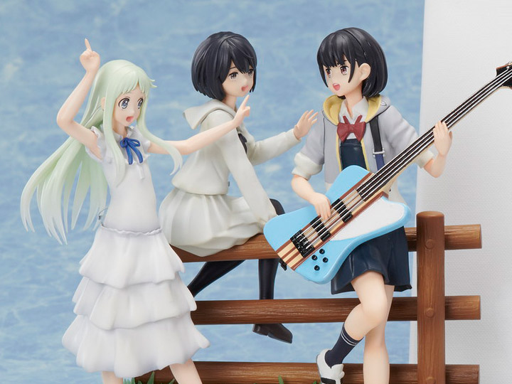 Anohana X The Anthem Of The Heart X Her Blue Sky Super Peace
