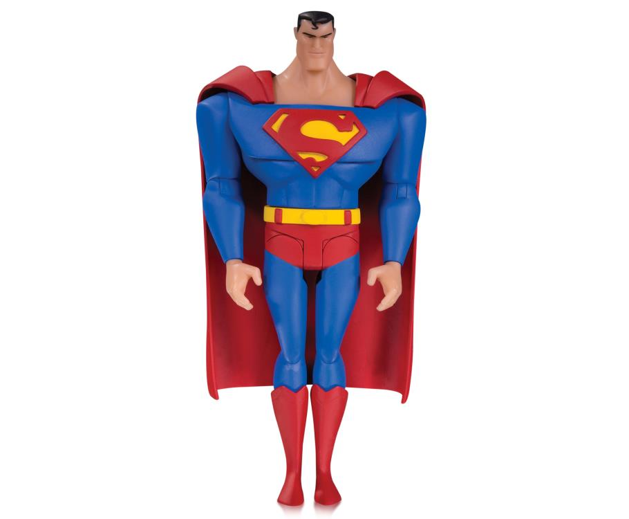 Exclusive Justice League Animated Superman Figure