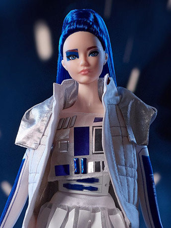 Star Wars R2-D2 x Barbie Doll