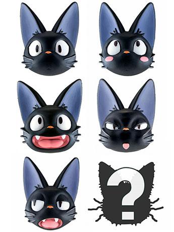 Kiki's Delivery Service Jiji Face Box of 6 Random Magnets