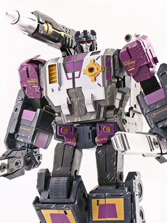 Master Builder MB-11B Purple God Armor Limited Edition Exclusive
