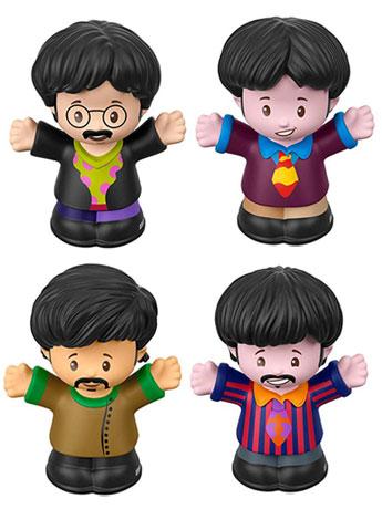 The Beatles Little People Yellow Submarine Set