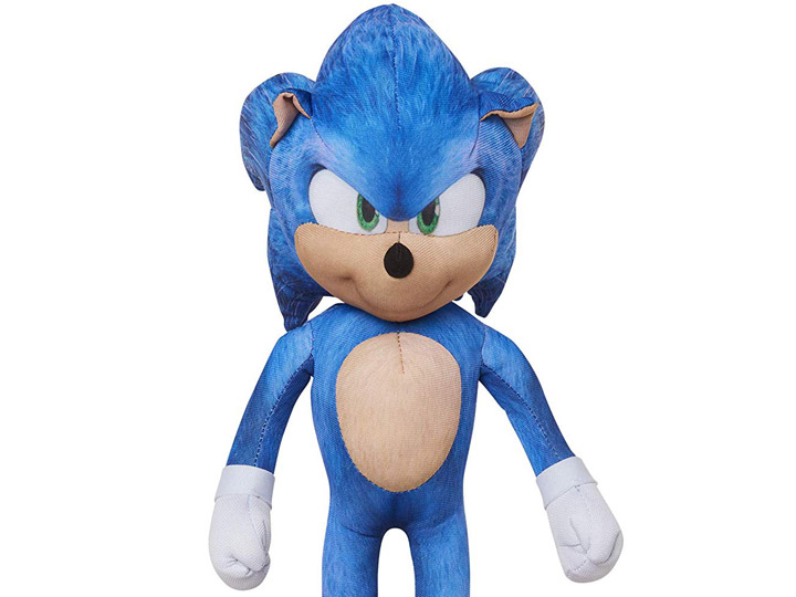 Sonic The Hedgehog 13 Talking Sonic Plush
