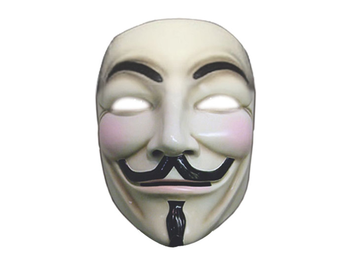 V For Vendetta Deluxe Guy Fawkes Mask