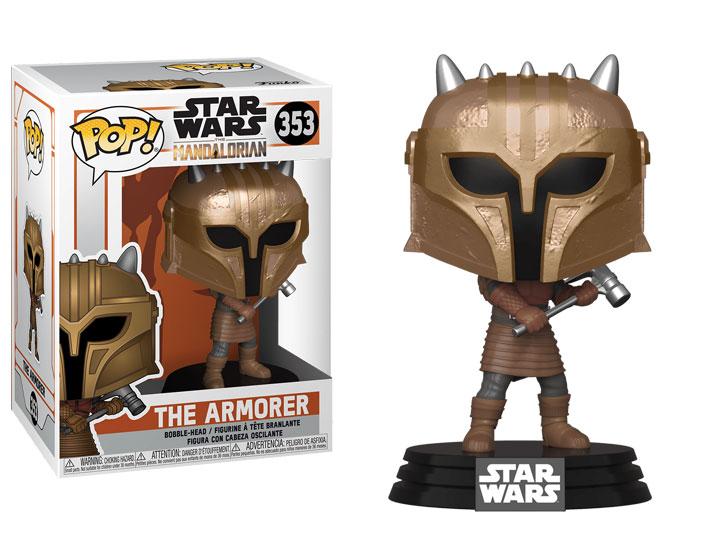 Funko The Armorer Brand New In Box Mandalorian POP Star Wars