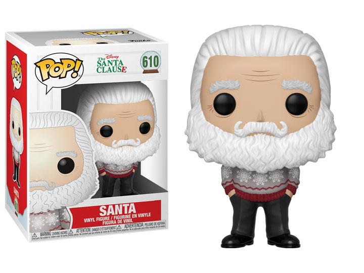 FUNKO POP SANTA clause-Santa Figura in vinile 42600 Nuovo In Magazzino DISNEY