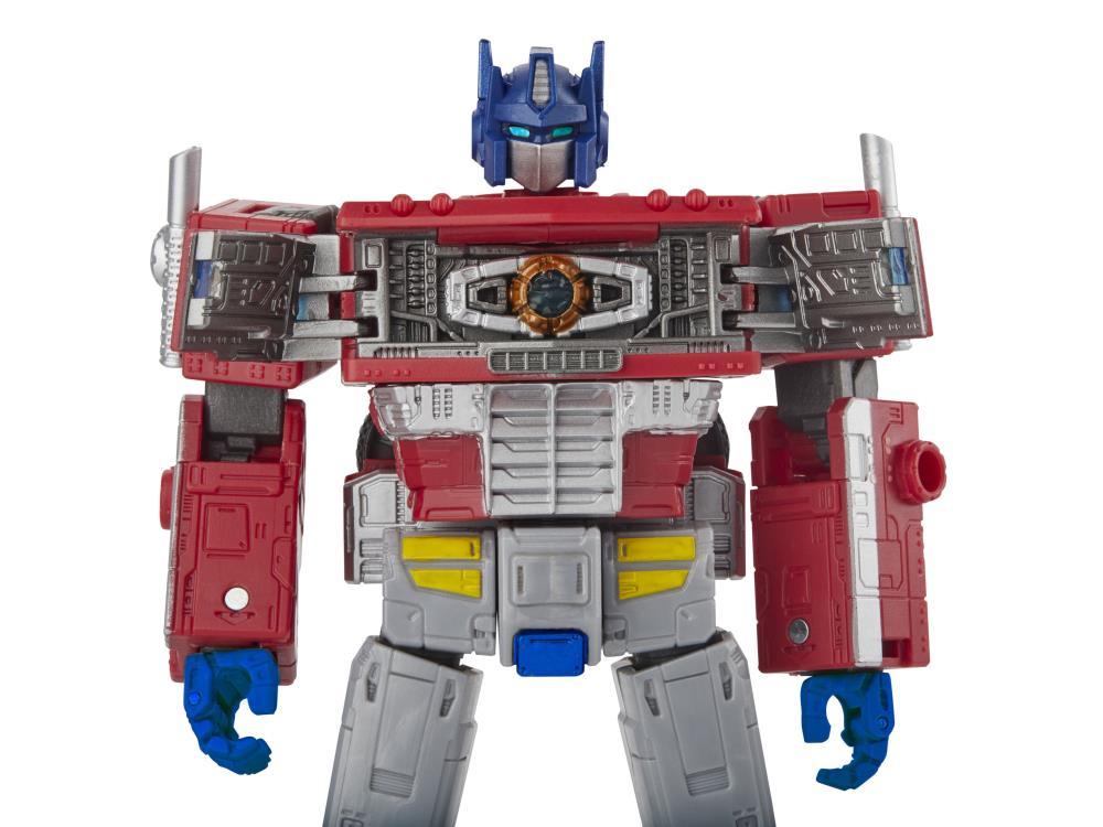 Transformers Optimus Prime Earthrise Wfc Leader Class Action Figure Toy Hasbro