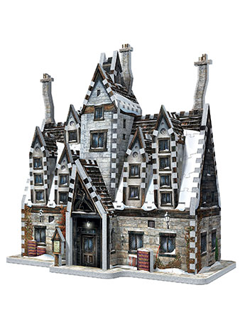 Harry Potter Hogsmeade The Three Broomsticks 395-Piece 3D Puzzle