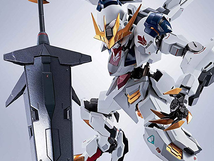 Gundam Metal Robot Spirit Gundam Barbatos Lupus Rex Barbatos lupus rex from full mechanics line! gundam metal robot spirit gundam