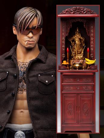 Gangsters Kingdom Club 4 Yao Tian 1/6 Scale Figure With Tabernacle