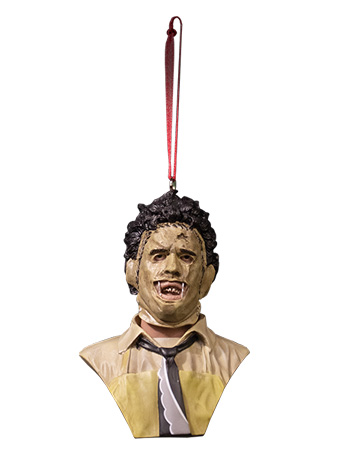 Texas Chainsaw Massacre Holiday Horrors Leatherface Ornament
