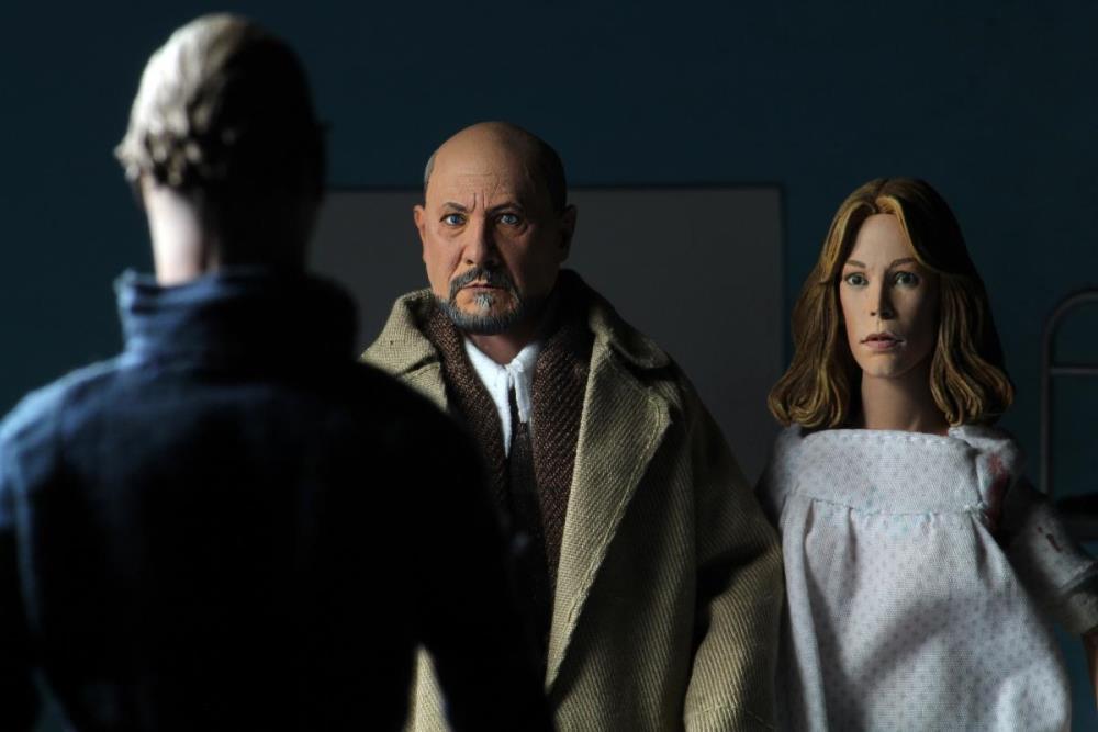 NECA-Halloween 2 Dr Loomis /& Laurie Strode 2 Pk pré-venda * Novo E Oficial *