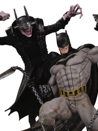 Dark Nights: Metal The Batman Who Laughs Vs. Batman Limited Edition Battle Statue