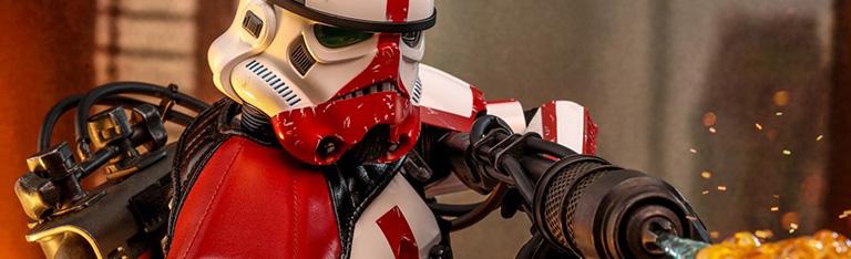 Hot Toys Mandalorian Incinerator Stormtrooper