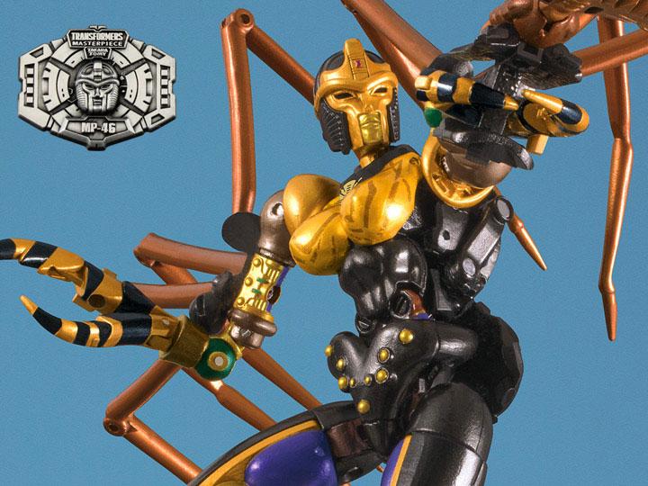 Transformers Takara Masterpiece MP-46 Blackwidow Beast Wars Blackarachnia Instoc