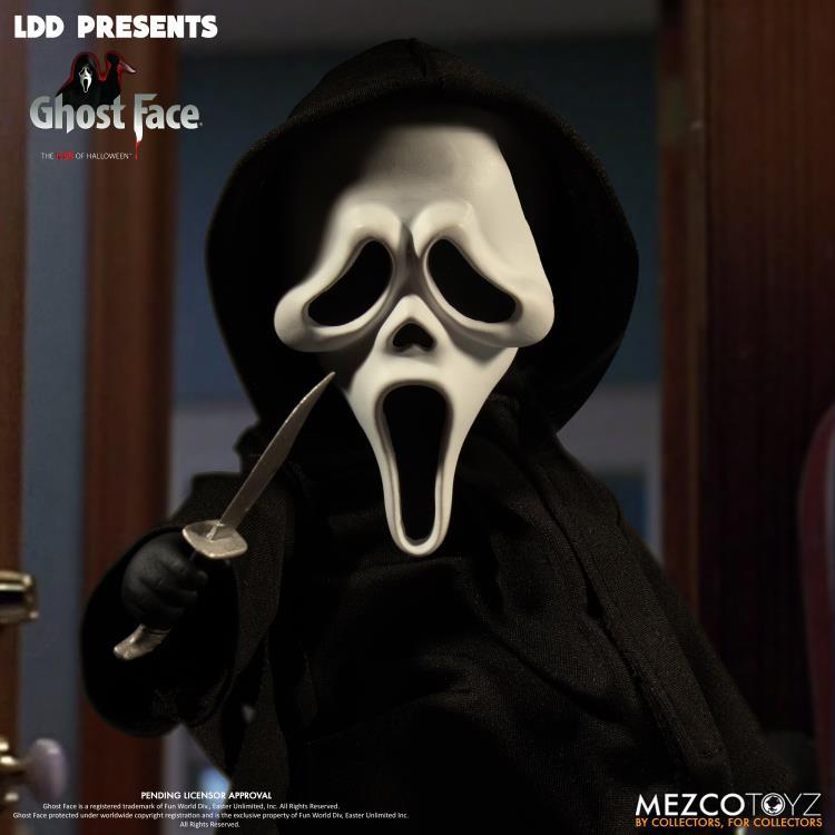 Mezco Scream Ghost Face Living Dead Dolls Action Figure