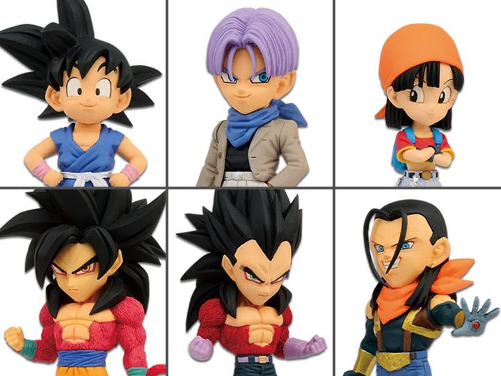 Dragon Ball GT WCF World Collectable Figure vol.1 set of 6 Complete Banpresto