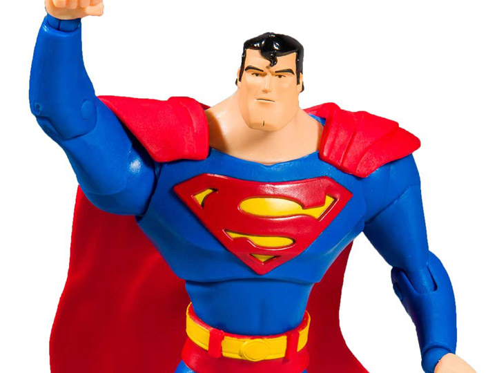 Case Fresh! McFarlane DC Multiverse Superman Animated Series Action Figure