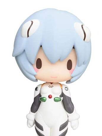 Neon Genesis Evangelion Mini Display Figure Vol. 3 Rei Ayanami