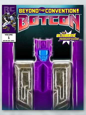 BotCon Ultimate Product Guide w/ Shirt & Pin