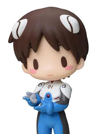 Neon Genesis Evangelion Mini Display Figure Vol. 4 Shinji Ikari