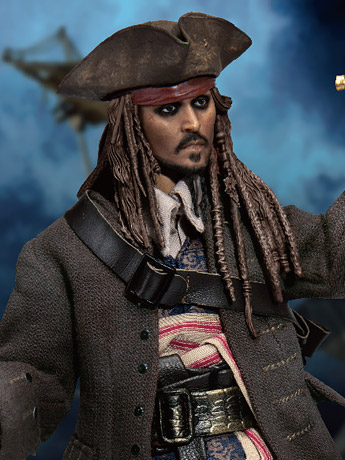 PotC Dynamic 8ction Heroes Jack Sparrow