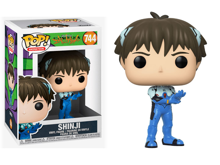 Shinji Ikari Evangelion Funko Pop Vinyl