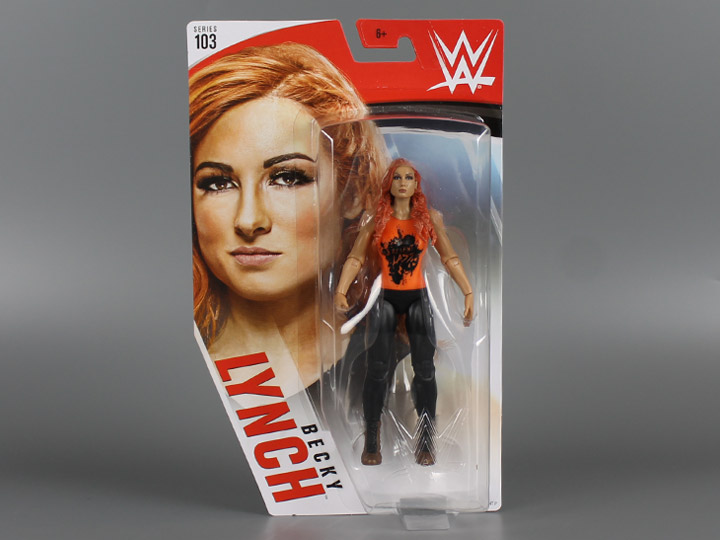 Becky Lynch WWE Mattel Basic Series 103 Action Figure NEW