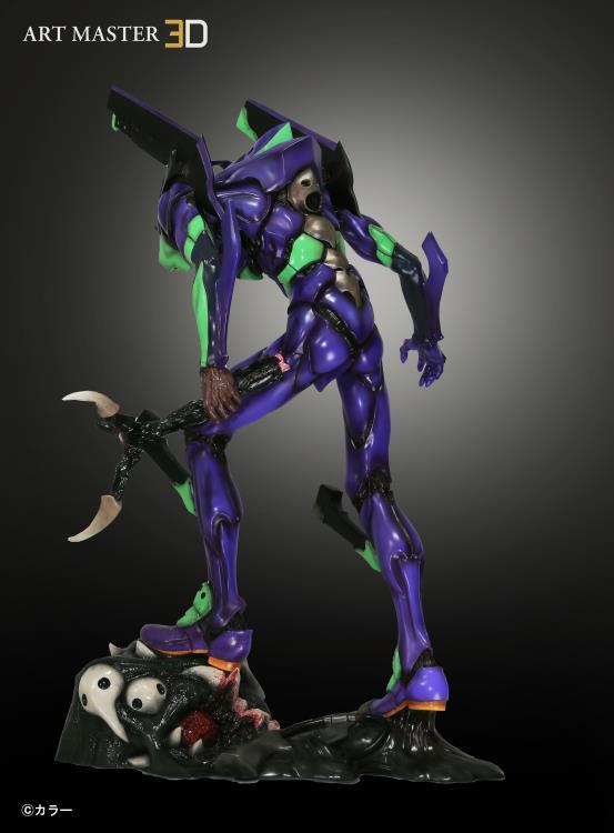 Neon Genesis Evangelion Art Master 3d Eva Unit 01 Shinobu Matsumura Ver Statue