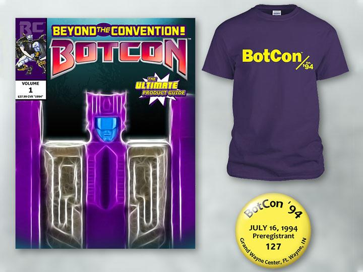 BotCon Ultimate Product Guide w/ Shirt & Pin